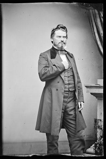 James R. Doolittle. Sitter: James Rood Doolittle, 3 Jan 1815 – 23 Jul 1897. Date: 1860s. Record ID: npg_NPG.81.M672.2.