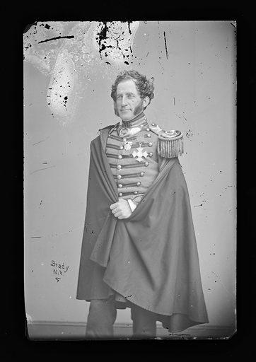 Abram Duryee. Sitter: Abram Duryée, 1815 – 1890. Date: 1860s. Record ID: npg_NPG.81.M685.