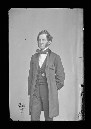 Abram Duryee. Sitter: Abram Duryée, 1815 – 1890. Date: 1860s. Record ID: npg_NPG.81.M686.