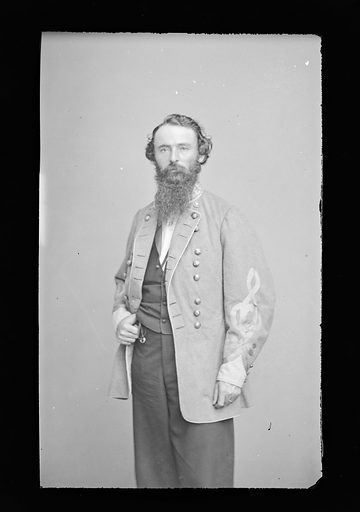 James F. Fagan. Sitter: James Fleming Fagan, 1828 – 1893. Date: 1880s. Record ID: npg_NPG.81.M720.