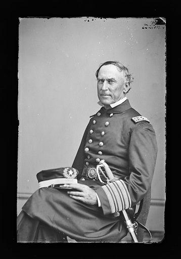 David G. Farragut. Sitter: David Glasgow Farragut, 5 Jul 1801 – 15 Aug 1870. Date: 1880s. Record ID: npg_NPG.81.M83.