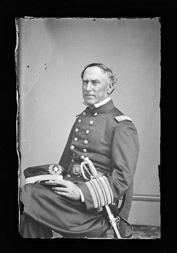 David G. Farragut. Sitter: David Glasgow Farragut, 5 Jul 1801 – 15 Aug 1870. Date: 1880s. Record ID: npg_NPG.81.M84.