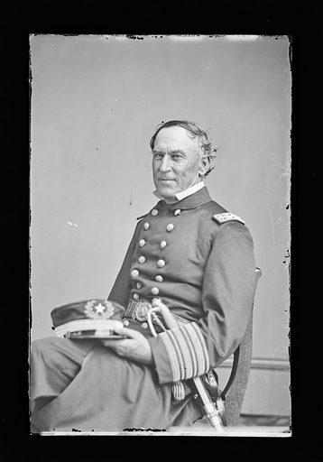 David G. Farragut. Sitter: David Glasgow Farragut, 5 Jul 1801 – 15 Aug 1870. Date: 1880s. Record ID: npg_NPG.81.M87.