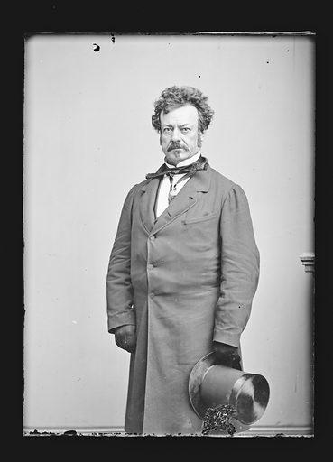 Edwin Forrest. Sitter: Edwin Forrest, 9 Mar 1806 – 12 Dec 1872. Date: 1860s. Record ID: npg_NPG.81.M91.