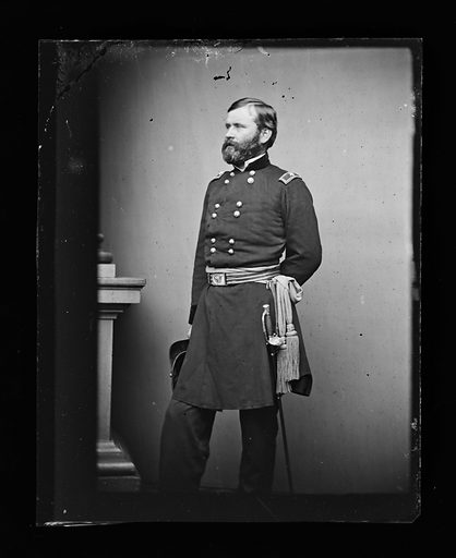 William B. Franklin. Sitter: William Buel Franklin, 27 Feb 1823 – 8 Mar 1903. Date: 1880s. Record ID: npg_NPG.81.M773.