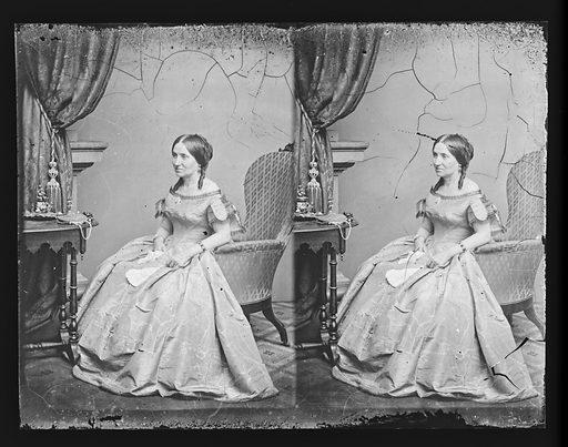 Myra Clark Gaines. Sitter: Myra Clark Gaines, 1805 – 1885. Date: 1860s. Record ID: npg_NPG.81.M785.2.