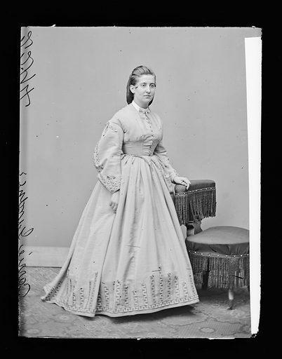 Carrie Gardner. Sitter: Carrie Gardner. Date: 1860s. Record ID: npg_NPG.81.M791.