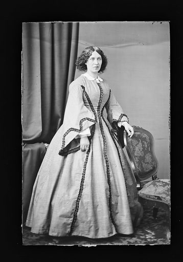 Mary Crisp Gladstone. Sitter: Mary Crisp Gladstone. Date: 1860s. Record ID: npg_NPG.81.M804.
