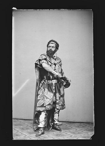 Giacomo Glech. Sitter: Giacomo Glech. Date: 1860s. Record ID: npg_NPG.81.M805.