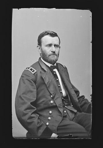 Ulysses S. Grant. Sitter: Ulysses Simpson Grant, 27 Apr 1822 – 23 Jul 1885. Date: 1880s. Record ID: npg_NPG.81.M104.