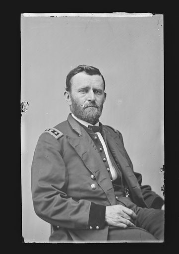 Ulysses S. Grant. Sitter: Ulysses Simpson Grant, 27 Apr 1822 – 23 Jul 1885. Date: 1880s. Record ID: npg_NPG.81.M105.