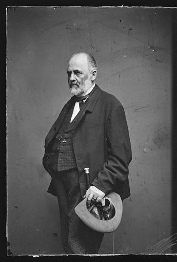 Adam Gurowski. Sitter: Adam Gurowski, 1805 – 1866. Date: 1860s. Record ID: npg_NPG.81.M833.1.