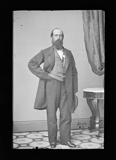 Peter Hart. Sitter: Peter Hart. Date: 1860s. Record ID: npg_NPG.81.M859.