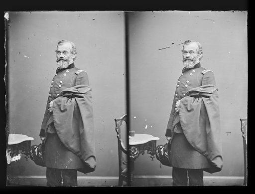 Samuel Heintzelman. Sitter: Samuel Peter Heintzelman, 30 Sep 1805 – 1 May 1880. Date: 1880s. Record ID: npg_NPG.81.M876.1.