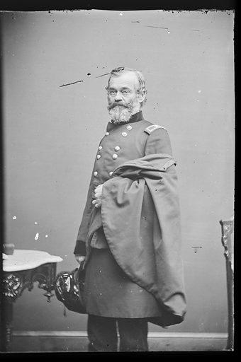 Samuel Heintzelman. Sitter: Samuel Peter Heintzelman, 30 Sep 1805 – 1 May 1880. Date: 1880s. Record ID: npg_NPG.81.M876.2.