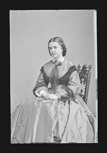 Madelaine Henriques. Sitter: Madelaine Henriques, 1841 – 1929. Date: 1860s. Record ID: npg_NPG.81.M879.