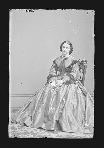 Madelaine Henriques. Sitter: Madelaine Henriques, 1841 – 1929. Date: 1860s. Record ID: npg_NPG.81.M881.