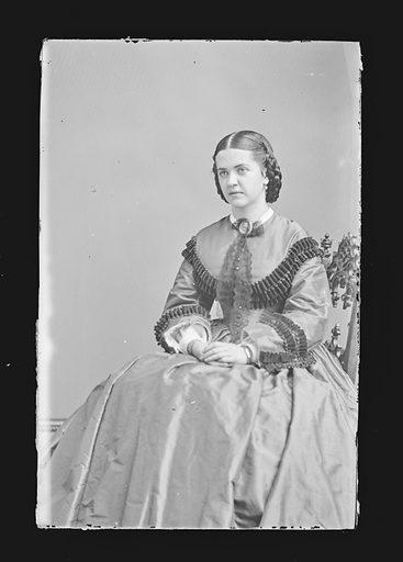 Madelaine Henriques. Sitter: Madelaine Henriques, 1841 – 1929. Date: 1860s. Record ID: npg_NPG.81.M882.