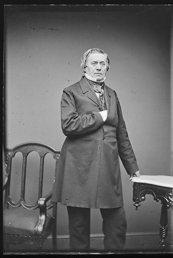 Joseph Henry. Sitter: Joseph Henry, 17 Dec 1797 – 13 May 1878. Date: 1860s. Record ID: npg_NPG.81.M115.1.