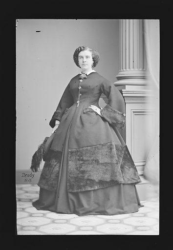 Isabella Hinckley. Sitter: Isabella Hinckley, 1840 – 1862. Date: 1860s. Record ID: npg_NPG.81.M899.