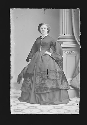 Isabella Hinckley. Sitter: Isabella Hinckley, 1840 – 1862. Date: 1860s. Record ID: npg_NPG.81.M902.