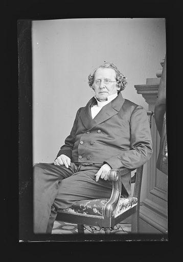 Charles D. D. Hodge. Sitter: Charles D. D. Hodge, 1797 – 1878. Date: 1860s. Record ID: npg_NPG.81.M904.