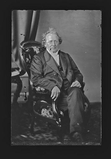 Charles D. D. Hodge. Sitter: Charles D. D. Hodge, 1797 – 1878. Date: 1860s. Record ID: npg_NPG.81.M905.