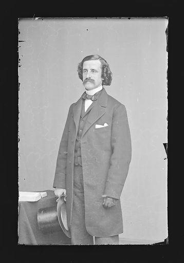 John T. Hoffman. Sitter: John Thompson Hoffman, 1828 – 1888. Date: 1860s. Record ID: npg_NPG.81.M910.