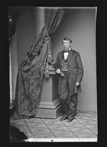David P. Holloway. Date: 1860s. Record ID: npg_NPG.81.M914.