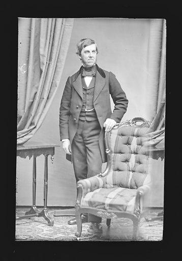 Oliver Wendell Holmes. Sitter: Oliver Wendell Holmes, Sr., 29 Aug 1809 – 7 Oct 1894. Date: 1860s. Record ID: npg_NPG.81.M122.