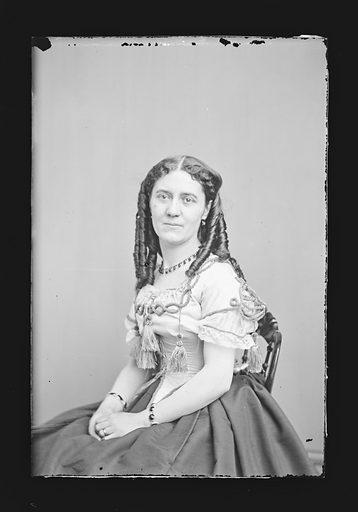 Clara Jennings. Sitter: Clara Jennings. Date: 1860s. Record ID: npg_NPG.81.M968.