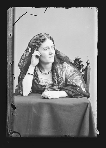 Clara Jennings. Sitter: Clara Jennings. Date: 1860s. Record ID: npg_NPG.81.M972.