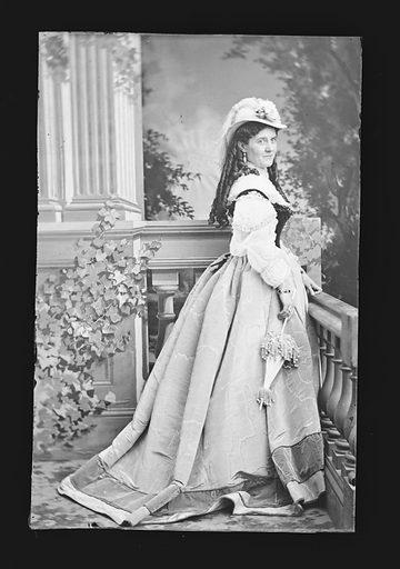 Clara Jennings. Sitter: Clara Jennings. Date: 1860s. Record ID: npg_NPG.81.M975.