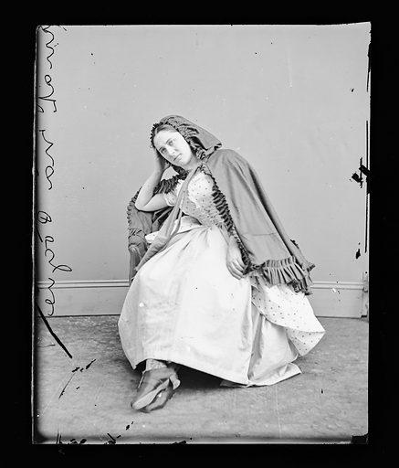 Emily Horne Jordon. Sitter: Emily Horne Jordon. Date: 1860s. Record ID: npg_NPG.81.M989.