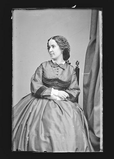 Clara Louise Kellogg. Sitter: Clara Louise Kellogg, 12 Jul 1842 – 13 May 1916. Date: 1860s. Record ID: npg_NPG.81.M1006.