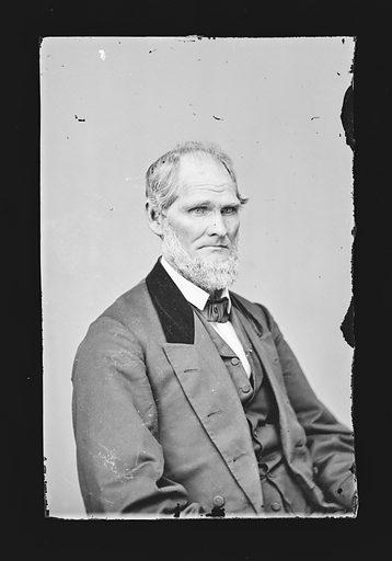 Henry S. Lane. Sitter: Henry Smith Lane, 24 Feb 1811 – 18 Jun 1881. Date: 1860s. Record ID: npg_NPG.81.M1034.