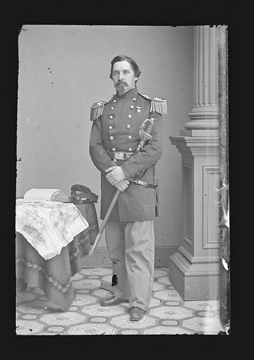 Henry S. Lansing. Sitter: Henry Seymour Lansing. Date: 1860s. Record ID: npg_NPG.81.M1043.