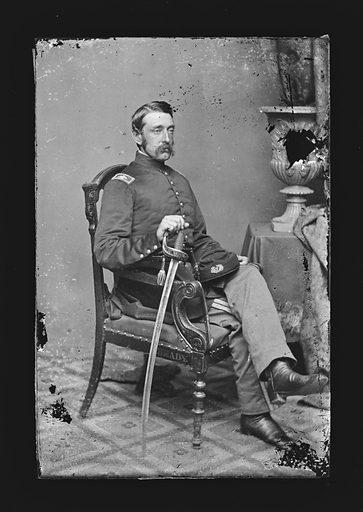 Marshall Lefferts. Sitter: Marshall Lefferts, 1821 – 1876. Date: 1860s. Record ID: npg_NPG.81.M1050.