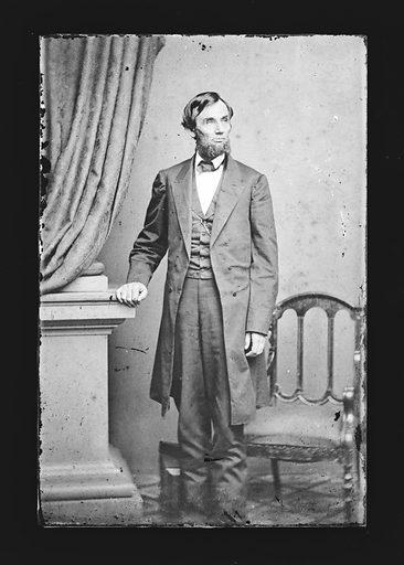 Abraham Lincoln. Sitter: Abraham Lincoln, 12 Feb 1809 – 15 Apr 1865. Date: 1860s. Record ID: npg_NPG.81.M4.