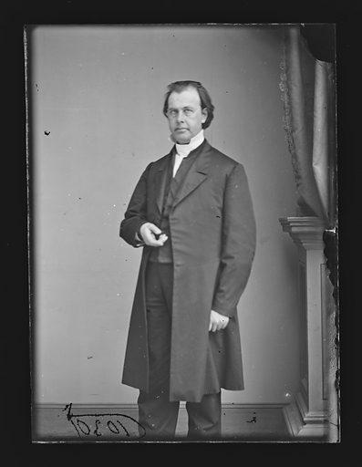 Abram N. Littlejohn. Sitter: Abram Newkirk Littlejohn, 1824 – 1901. Date: 1860s. Record ID: npg_NPG.81.M1060.