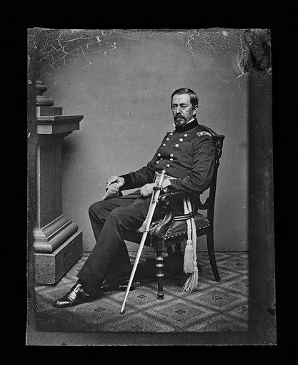 George A. McCall. Sitter: George Archibald McCall, 1802 – 1868. Date: 1860s. Record ID: npg_NPG.81.M1092.