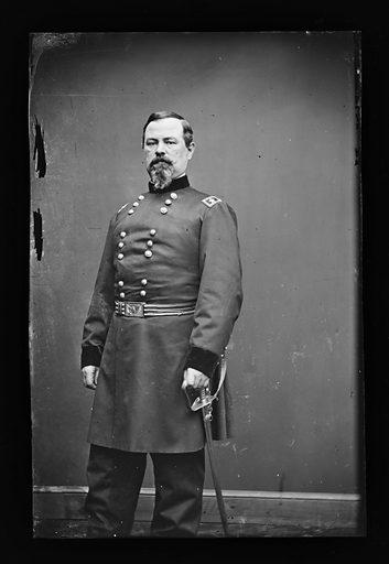 Irvin McDowell. Sitter: Irvin McDowell, 15 Oct 1818 – 4 May 1885. Date: 1880s. Record ID: npg_NPG.81.M1111.