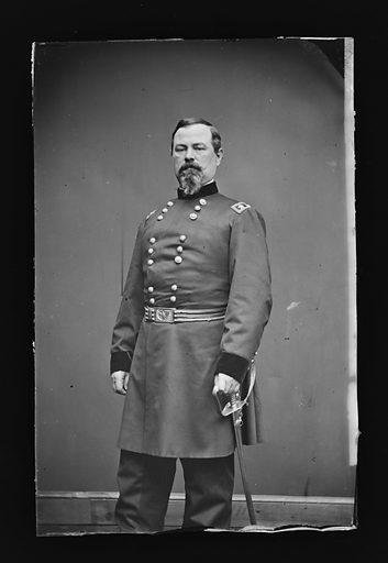Irvin McDowell. Sitter: Irvin McDowell, 15 Oct 1818 – 4 May 1885. Date: 1880s. Record ID: npg_NPG.81.M271.