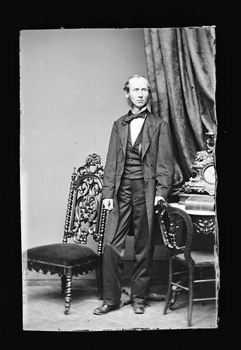Edward McPherson. Sitter: Edward McPherson, 1830 – 1895. Date: 1860s. Record ID: npg_NPG.81.M1116.