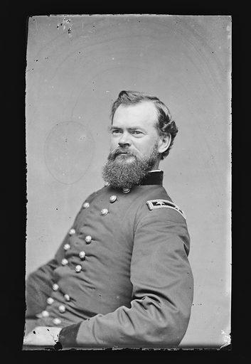 James B. McPherson. Sitter: James Birdseye McPherson, 14 Nov 1828 – 22 Jul 1864. Date: 1880s. Record ID: npg_NPG.81.M272.
