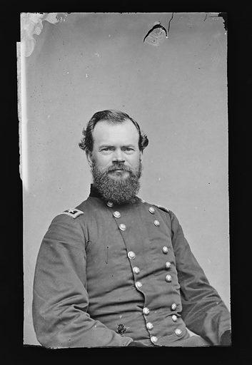 James B. McPherson. Sitter: James Birdseye McPherson, 14 Nov 1828 – 22 Jul 1864. Date: 1880s. Record ID: npg_NPG.81.M1117.