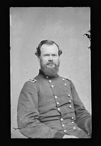 James B. McPherson. Sitter: James Birdseye McPherson, 14 Nov 1828 – 22 Jul 1864. Date: 1880s. Record ID: npg_NPG.81.M1118.