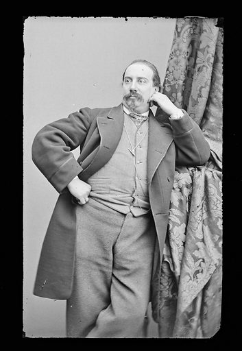 Francesco Mazzolini. Sitter: Francesco Mazzolini. Date: 1860s. Record ID: npg_NPG.81.M1133.