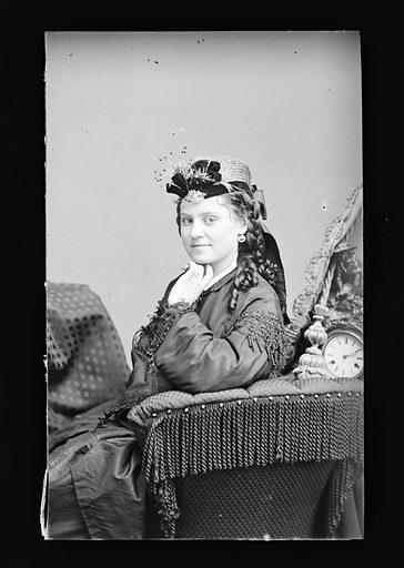 Emily Melville. Sitter: Emilie Melville, 1852? – 1932. Date: 1860s. Record ID: npg_NPG.81.M1142.