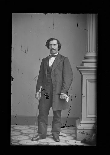 Possibly David Mayer Miranda. Date: 1860s. Record ID: npg_NPG.81.M1149.